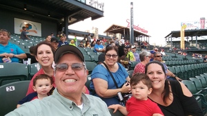 Ricardo attended Round Rock Express vs. Iowa Cubs - MiLB on May 21st 2018 via VetTix