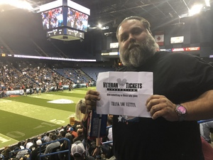 Michael attended Los Angeles Temptation vs. Chicago Bliss - Legends Football League - Women of the Gridiron on May 11th 2018 via VetTix