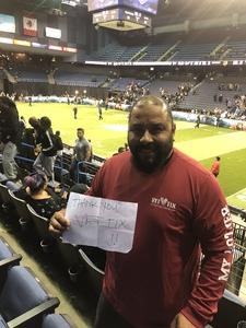 Roland attended Los Angeles Temptation vs. Chicago Bliss - Legends Football League - Women of the Gridiron on May 11th 2018 via VetTix