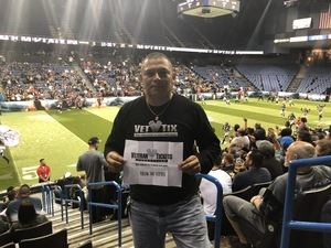 Daniel attended Los Angeles Temptation vs. Chicago Bliss - Legends Football League - Women of the Gridiron on May 11th 2018 via VetTix