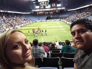 Guillermo attended Los Angeles Temptation vs. Chicago Bliss - Legends Football League - Women of the Gridiron on May 11th 2018 via VetTix