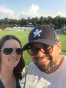 Joshua attended North Carolina Courage vs. Washington Spirit - NWSL - National Womens Soccer League on May 12th 2018 via VetTix