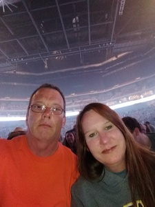 Mitch attended Brad Paisley - Weekend Warrior World Tour With Dustin Lynch, Chase Bryant and Lindsay Ell on Apr 26th 2018 via VetTix