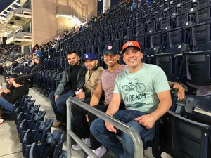 Christian attended San Diego Padres vs. Miami Marlins - MLB on May 30th 2018 via VetTix