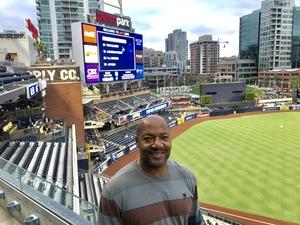 Thomas attended San Diego Padres vs. Miami Marlins - MLB on May 30th 2018 via VetTix