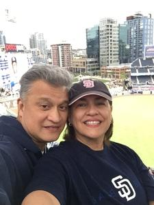 Fred attended San Diego Padres vs. Miami Marlins - MLB on May 30th 2018 via VetTix