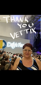 Kelly attended Skillet + for King and Country - Joy Unleashed Tour 2018 on May 4th 2018 via VetTix