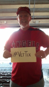 Ian attended Los Angeles Angels vs. Minnesota Twins - MLB on May 10th 2018 via VetTix