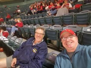 Howard attended Los Angeles Angels vs. Minnesota Twins - MLB on May 10th 2018 via VetTix