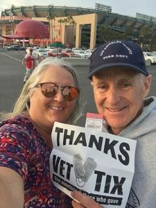 William attended Los Angeles Angels vs. Minnesota Twins - MLB on May 10th 2018 via VetTix