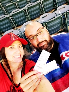Hugo attended Los Angeles Angels vs. Minnesota Twins - MLB on May 10th 2018 via VetTix