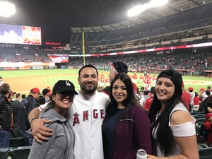 Edwin attended Los Angeles Angels vs. Minnesota Twins - MLB on May 10th 2018 via VetTix