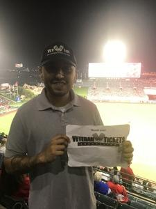 Ernesto attended Los Angeles Angels vs. Minnesota Twins - MLB on May 10th 2018 via VetTix