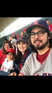 Wilbum attended Los Angeles Angels vs. Minnesota Twins - MLB on May 10th 2018 via VetTix