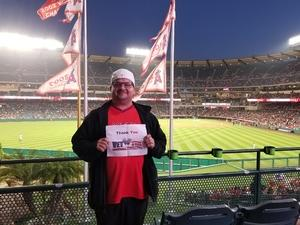 Andres attended Los Angeles Angels vs. Minnesota Twins - MLB on May 10th 2018 via VetTix