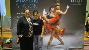 Lingfei attended Ballet Arizona Presents All Balanchine 2018 - Friday Show on May 4th 2018 via VetTix
