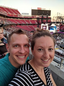 William attended Taylor Swift Reputation Stadium Tour on May 11th 2018 via VetTix