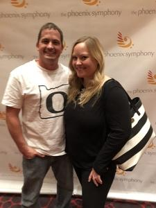 Gregory attended Live From Broadway Performed by the Phoenix Symphony - Friday on May 18th 2018 via VetTix