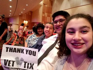 Angel attended Live From Broadway Performed by the Phoenix Symphony - Friday on May 18th 2018 via VetTix