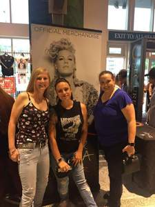 Kiley attended P! Nk: Beautiful Trauma World Tour on May 2nd 2018 via VetTix