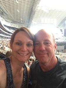 DAVID attended Kenny Chesney: Trip Around the Sun Tour With Thomas Rhett and Old Dominion on May 19th 2018 via VetTix