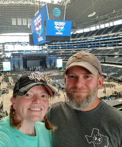 Christopher attended Kenny Chesney: Trip Around the Sun Tour With Thomas Rhett and Old Dominion on May 19th 2018 via VetTix
