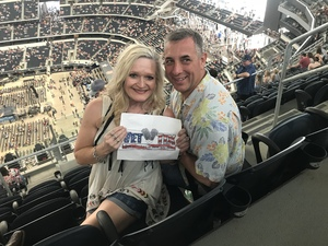 Robert attended Kenny Chesney: Trip Around the Sun Tour With Thomas Rhett and Old Dominion on May 19th 2018 via VetTix