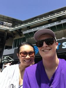 Melody attended Colorado Rockies vs. Cincinnati Reds - MLB on May 27th 2018 via VetTix