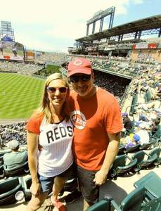 Shane attended Colorado Rockies vs. Cincinnati Reds - MLB on May 27th 2018 via VetTix
