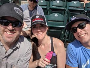 Kyle attended Colorado Rockies vs. Cincinnati Reds - MLB on May 27th 2018 via VetTix
