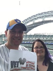 Allen attended Milwaukee Brewers vs. St. Louis Cardinals - MLB on May 29th 2018 via VetTix