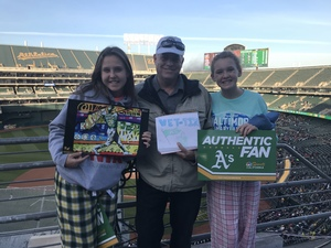 David attended Oakland Athletics vs. Baltimore Orioles - MLB on May 4th 2018 via VetTix