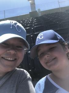 Mary attended Kansas City Royals vs. Oakland Athletics - MLB on Jun 3rd 2018 via VetTix