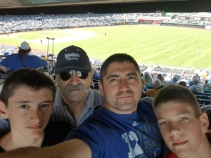 Israel attended Kansas City Royals vs. Oakland Athletics - MLB on Jun 3rd 2018 via VetTix