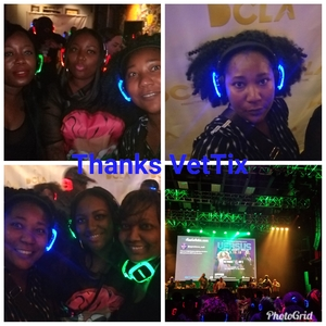 Theresa attended DCLA Jay Z vs Beyonce Silent Headphones Dance Party - 18+ Show on May 18th 2018 via VetTix