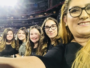 Christopher & Brenda attended Taylor Swift Reputation Stadium Tour on May 8th 2018 via VetTix