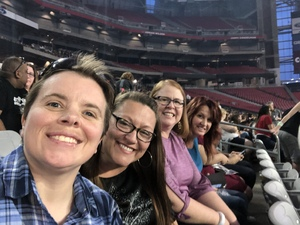 Amy attended Taylor Swift Reputation Stadium Tour on May 8th 2018 via VetTix