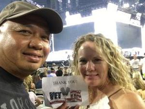 jonathan attended Taylor Swift Reputation Stadium Tour on May 8th 2018 via VetTix