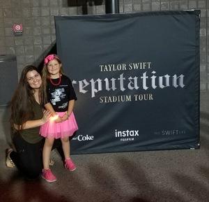 Brett attended Taylor Swift Reputation Stadium Tour on May 8th 2018 via VetTix