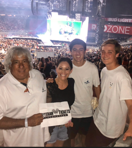 Marcos attended Taylor Swift Reputation Stadium Tour on May 8th 2018 via VetTix