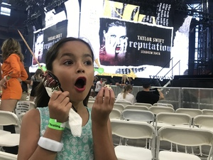joshua attended Taylor Swift Reputation Stadium Tour on May 8th 2018 via VetTix
