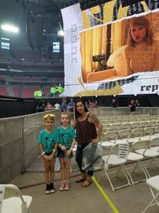Brad attended Taylor Swift Reputation Stadium Tour on May 8th 2018 via VetTix