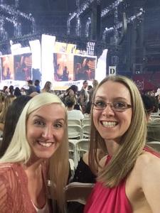 Morgan attended Taylor Swift Reputation Stadium Tour on May 8th 2018 via VetTix