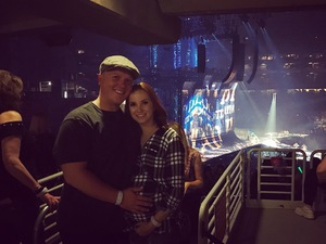 Griffin attended Taylor Swift Reputation Stadium Tour on May 8th 2018 via VetTix