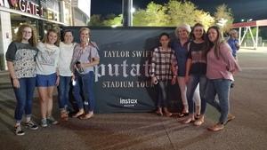 Dallan attended Taylor Swift Reputation Stadium Tour on May 8th 2018 via VetTix