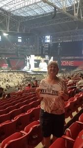 James attended Taylor Swift Reputation Stadium Tour on May 8th 2018 via VetTix