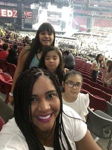 Ivonne attended Taylor Swift Reputation Stadium Tour on May 8th 2018 via VetTix