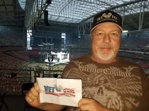 ken attended Taylor Swift Reputation Stadium Tour on May 8th 2018 via VetTix