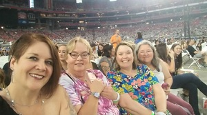 Jennifer attended Taylor Swift Reputation Stadium Tour on May 8th 2018 via VetTix