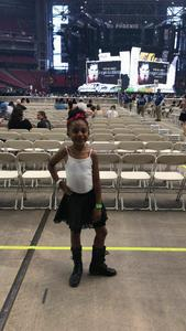 Bryant attended Taylor Swift Reputation Stadium Tour on May 8th 2018 via VetTix
